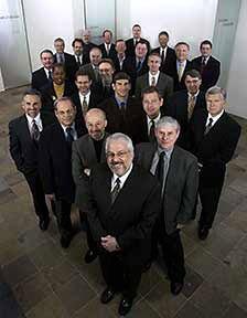 annual report photo, executives