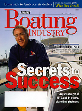 boating industry cover photography